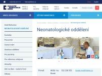 Neonatologické oddělení