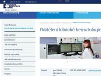 Oddělení klinické hematologie