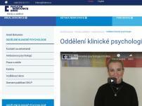 Oddělení klinické psychologie