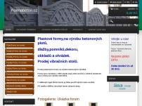 Internetový prodej plastových forem na betonové výrobky.