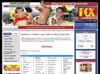 Foxpress – e-SHOP – gay video prodej a půjčovna