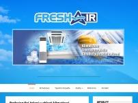FRESH AIR – tepelná čerpadla vzduch-voda