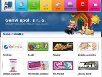 HRAČKY - GENVI - distribuce - velkoobchod, e-shop