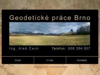 Geodetické práce – Ing. Aleš Čech