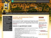 Geodetické práce - Ing. Pavel Dobeš