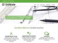 Geodézie - Lenka Mášová