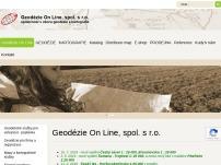 Geodézie On Line, spol. s r.o.