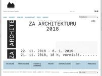 Nadace české architektury - Galerie Jaroslava Fragnera