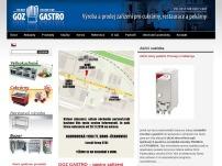 GOZ GASTRO – konvektomaty a další gastronomické vybavení