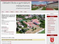 Základní škola a gymnázium města Konice