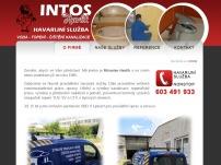 INTOS - Čištění kanalizací, havarijní služba