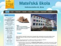 Mateřská škola Brno, Hněvkovského 62, příspěvková organizace