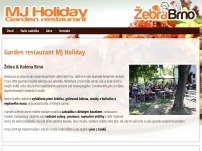 Garden restaurant MJ Holiday