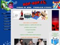 HOP-HOP CZ - atrakce, hry, zábava na míru