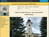 Kostol svätého Jána Nepomuckého, Horné Srnie