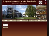 Hotel Academia, kongresové centrum