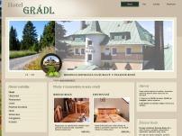 Restaurace hotelu Grádl
