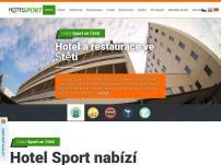 Hotel Sport Štětí – Pořádání firemních školení