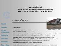 Uhelné sklady Ředhošť - Miloš Huja