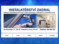 Instalatérství Josef Zaoral
