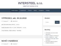 INTERSTEEL s.r.o.