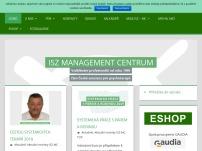 Management centrum, pracoviště ISZ