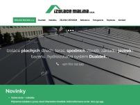Izolace plochých střech – IZOLACE MALINA s.r.o.