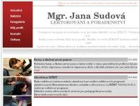 Mgr. Jana Sudová