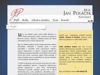 Mgr. Jan Poláček, advokát