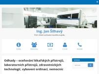 Ing. Jan Šilhavý – Odhady lékařských přístrojů