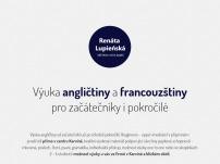 Výuka angličtiny a francouzštiny – Renata Lupieńská