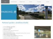 Podzemní parkovací garáže u Janáčkova divadla