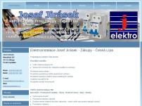 Elektroinstalace Josef Jirásek