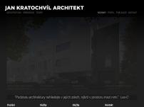 Ing. arch. Jan Kratochvíl