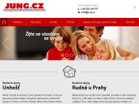 JUNG.CZ a.s. – Rodinné bydlení u Prahy se zahrádkou