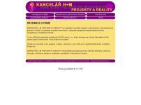 KANCELÁŘ H+M, PROJEKTY A REALITY