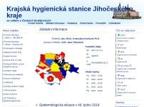 Krajská hygienická stanice Jihočeského kraje se sídlem v Českých Budějovicích