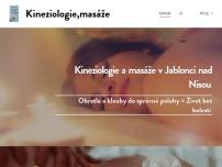 Kineziologie a masáže v Jablonci nad Nisou