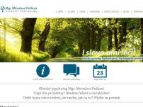 Klinický psycholog a psychoterapie - Mgr. Miroslava Pešlová