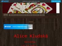Alice Kludská – výklad karet