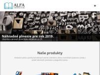 Chránená dielňa ALFA s.r.o.
