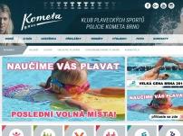 Klub plaveckých sportů policie Kometa Brno, o. s.