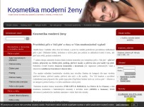 Kosmetika moderní ženy