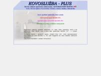KOVOSLUŽBA - PLUS