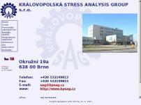 KRÁLOVOPOLSKÁ STRESS ANALYSIS GROUP s.r.o.