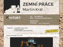 Zemní a výkopové práce – Martin Král