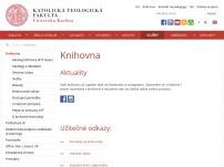 Centrální katolická knihovna Katolické teologické fakulty