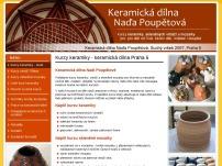 Naděžda Poupětová - Keramické studio