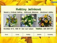 Květiny – Věra Jelínková