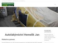 AUTOLAKÝRNICTVÍ Jan Hemelík